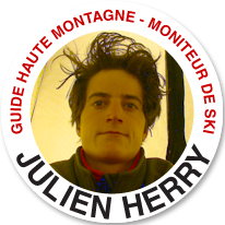 Picaguide: HERRY Julien - guide & moniteur